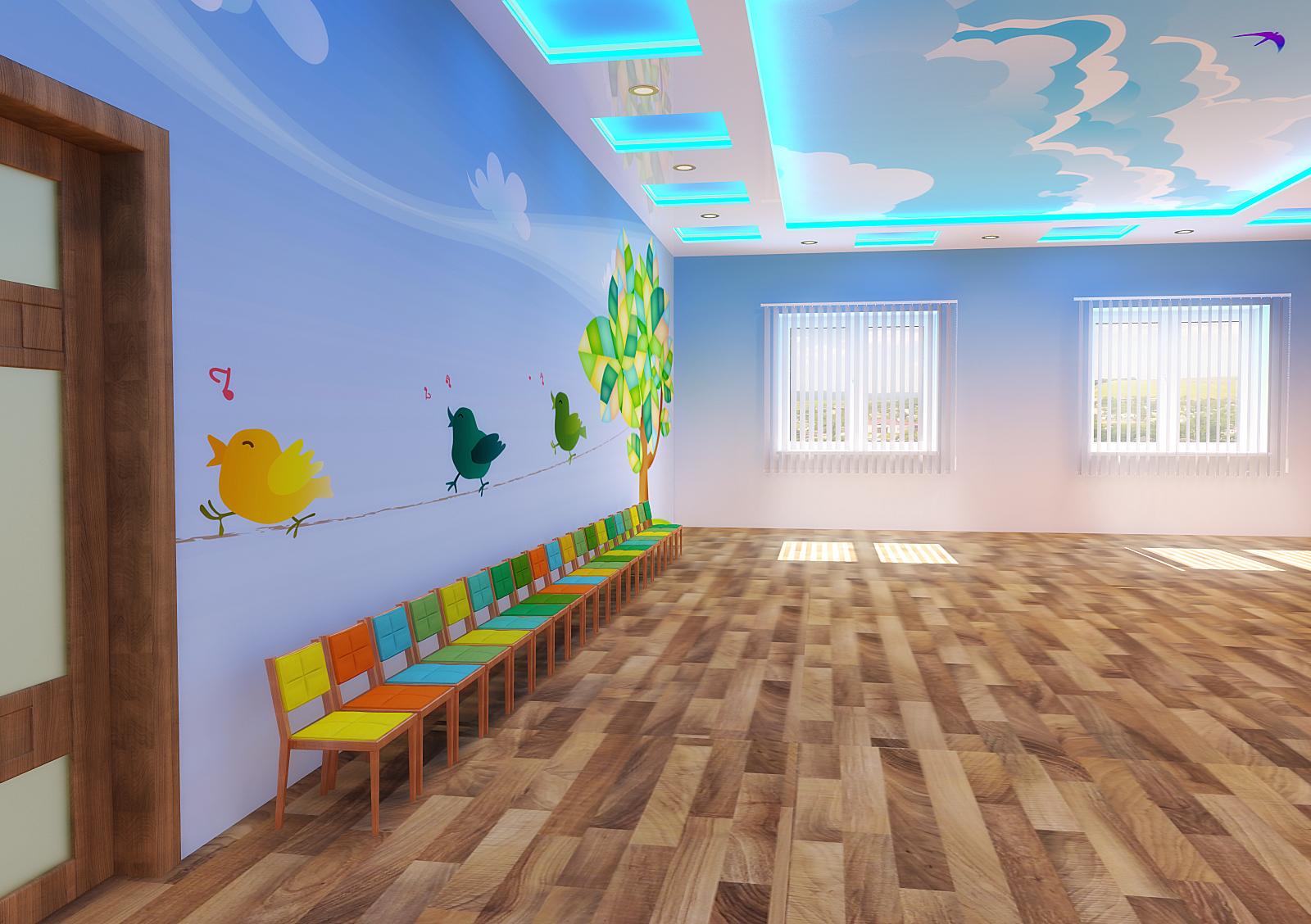 Музыкальный зал дизайн в детском саду дизайн