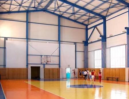Электромонтажные работы спортивного зала